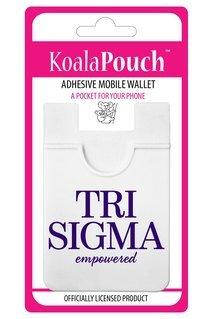 Sigma Sigma Sigma Logo Koala Pouch