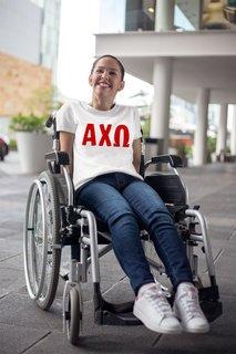 Alpha Chi Omega Jordyn Comfort Colors T-Shirt