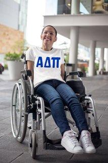 Alpha Delta Pi Jordyn Comfort Colors T-Shirt