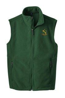 Alpha Gamma Rho Fleece Crest - Shield Vest