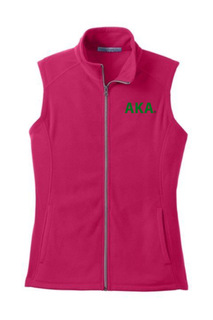 Alpha Kappa Alpha Fleece Vest