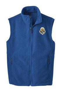 Alpha Phi Omega Fleece Crest - Shield Vest