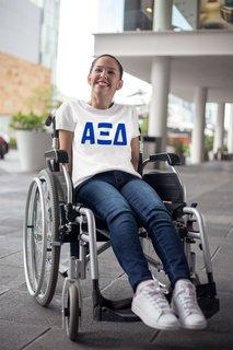Alpha Xi Delta Jordyn Comfort Colors T-Shirt