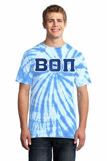 DISCOUNT-Beta Theta Pi Essential Tie-Dye Lettered Tee