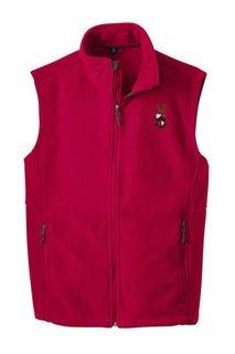 Beta Theta Pi Fleece Crest - Shield Vest