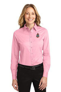 DISCOUNT-Delta Gamma Long Sleeve Oxford