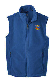Delta Kappa Epsilon Fleece Crest - Shield Vest