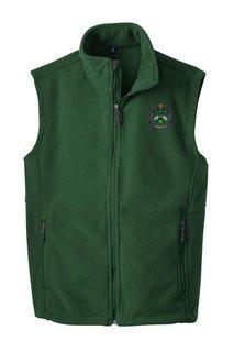 Delta Sigma Phi Fleece Crest - Shield Vest
