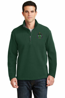 DISCOUNT-Delta Sigma Phi Emblem 1/4 Zip Pullover