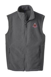 FIJI Fraternity Fleece Crest - Shield Vest