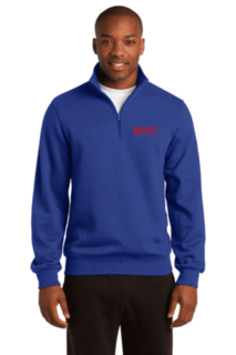 Fraternity & Sorority Quarter Zip Fleece Pullover