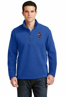 Greek Crest Fleece 1/4 Zip Pullover