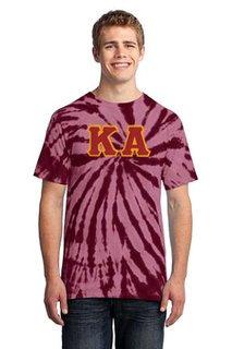 DISCOUNT-Kappa Alpha Essential Tie-Dye Lettered Tee