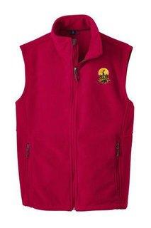 Kappa Alpha Fleece Crest - Shield Vest
