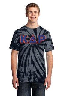DISCOUNT-Kappa Delta Rho Essential Tie-Dye Lettered Tee