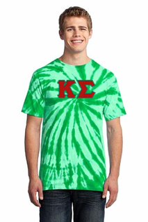 DISCOUNT-Kappa Sigma Essential Tie-Dye Lettered Tee