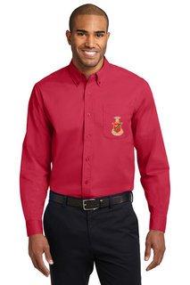 DISCOUNT-Kappa Sigma Long Sleeve Oxford