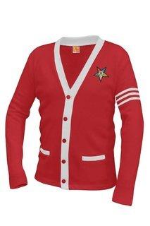 Order Of Eastern Star OES Varsity Cardigan Sweater