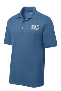 Phi Beta Kappa Greek Letter Polo's