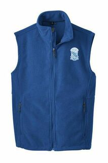 Phi Beta Sigma Fleece Crest - Shield Vest