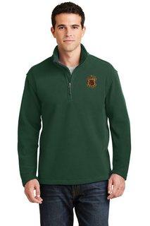 DISCOUNT-Phi Kappa Psi Emblem 1/4 Zip Pullover