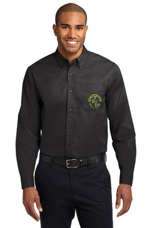 DISCOUNT-Phi Kappa Sigma Crest - Shield Long Sleeve Oxford