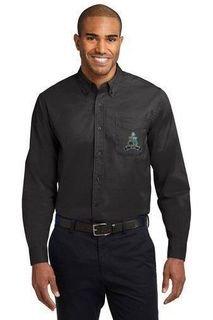 DISCOUNT-Phi Kappa Sigma Crest - Shield Long Sleeve Oxford