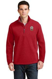 DISCOUNT-Phi Sigma Kappa Emblem 1/4 Zip Pullover