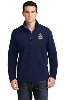 DISCOUNT-Pi Kappa Phi Emblem 1/4 Zip Pullover
