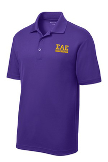 $30 World Famous Sigma Alpha Epsilon Greek PosiCharge Polo