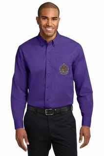 DISCOUNT-Sigma Alpha Epsilon Long Sleeve Oxford
