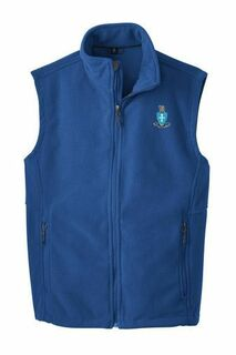 Sigma Chi Crest - Shield Fleece Vest
