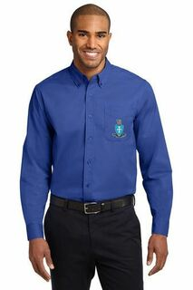 DISCOUNT-Sigma Chi Long Sleeve Oxford