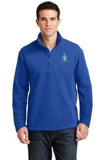 DISCOUNT-Sigma Chi Emblem 1/4 Zip Pullover