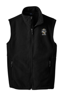 Sigma Nu Fleece Crest - Shield Vest