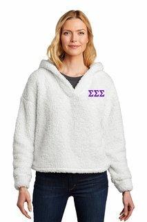 Sigma Sigma Sigma Cozy Fleece Hoodie