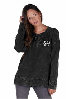 Sorority Derby Lace-Up Tunic