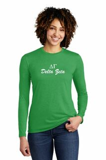 Sorority Tri-Blend Long Sleeve Tee