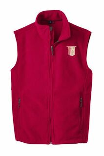 Theta Chi Fleece Crest - Shield Vest