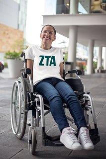 Zeta Tau Alpha Jordyn Comfort Colors T-Shirt
