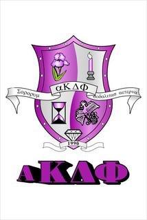 Alpha Kappa Delta Phi Crest - Shield Window Decals Stickers