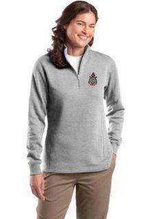 DISCOUNT-Delta Gamma Emblem 1/4 Zip Pullover