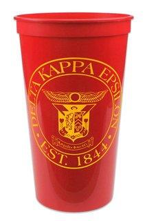 Closeout Delta Kappa Epsilon Big Plastic Stadium Cup - 10 FOR $10!