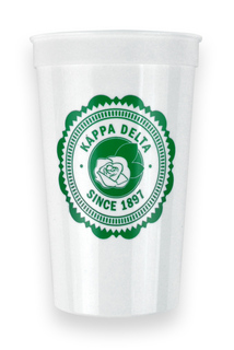 Kappa Delta Old Style Classic Giant Plastic Cup