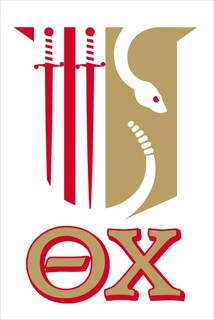 Theta Chi Crest - Shield Decal
