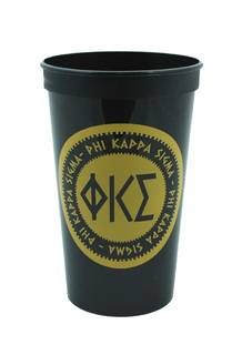 Set of 10 - Phi Kappa Sigma Big Ancient Greek Letter Stadium Cup - Clearance!!!
