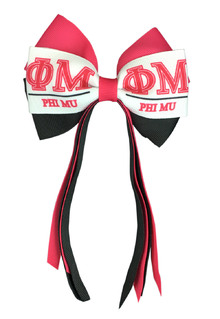 Phi Mu Streamer Bow