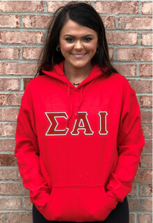 Sigma Alpha Iota Custom Twill Hooded Sweatshirt