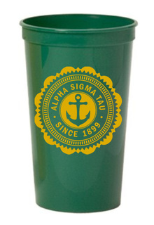 Alpha Sigma Tau Old Style Classic Giant Plastic Cup