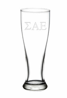 Sigma Alpha Epsilon Holland Glass